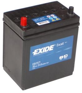 Exide Excell EB 357 B+