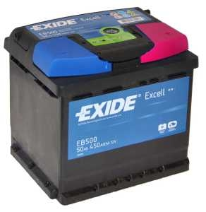 Exide Excell EB 500 J+