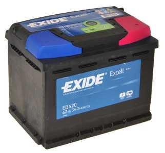 Exide Excell EB 620 J+