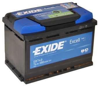 Exide Excell EB 740 J+